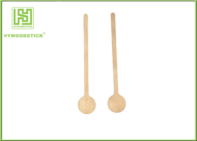 Bulk Placking Wooden Cocktail Sticks , Round Head Custom Swizzle Sticks For Drinks