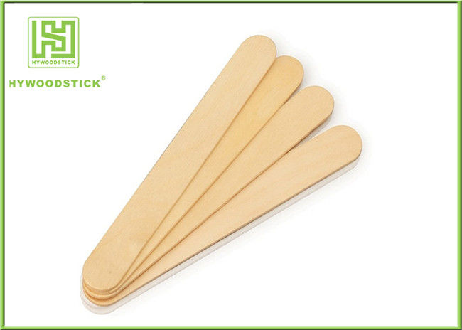 Bulk Tongue Depressors Sterile , Tongue Checking Small Wooden Spatula For Hospital
