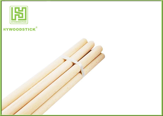Unique Design Natural Wood Sticks Hot Dog Skewers 3 / 4 Diameter
