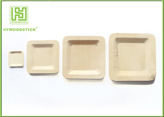 Non - Flavor Wood  Appetizer Plates , Eco Friendly Rice Husk Fiber Dinner Plates